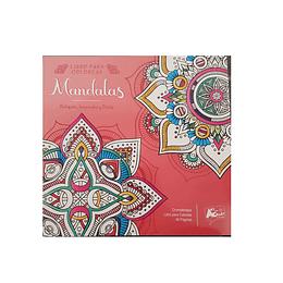 LIBRO COLOREAR MANDALAS 48 PÁGINAS