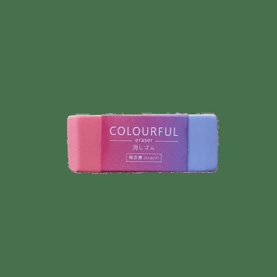 Goma Multicolor Unidad