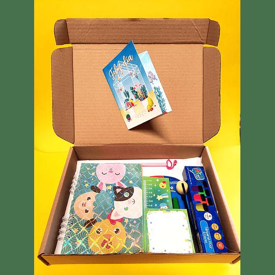 BOX ANIMALES AMIGOS