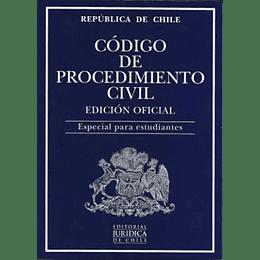 Codigo De Procedimiento Civil - Edicion Oficial