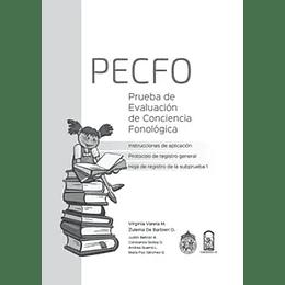 Pecfo Prueba De Evaluacion De Conciencia Fonologica