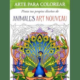 Animales Art Nouveau