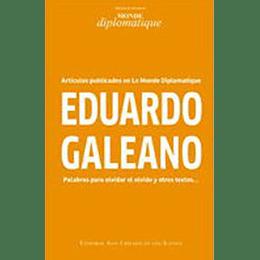 Eduardo Galeano Palabras Para Olvidar