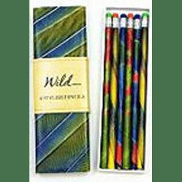 Wild 6 Stylish Pencils