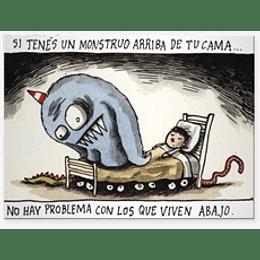 Viñeta Imantada Olga En La Cama