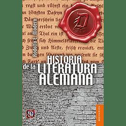 Historia De La Literatura Alemana