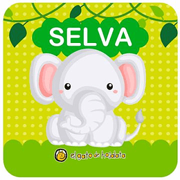 Colección Hora Del Baño:  Animales De La Selva