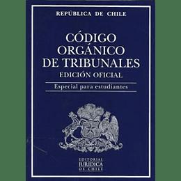 Codigo Organico De Tribunales - Edicion Oficial