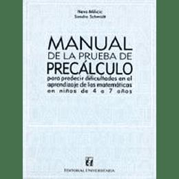 Manual De La Prueba De Precalculo