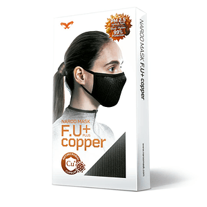 Mascarilla NARO Japan FU+ COPPER
