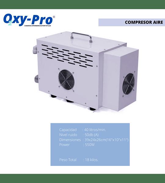 Camara Hiperbarica Portatil Marca Oxypro Mod. OXY801