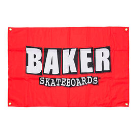 Bandera/lienzo Baker logo