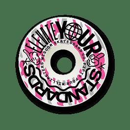 Ruedas Wisdom - Elevate conicas 54mm