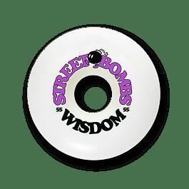 Ruedas Wisdom - Street bombs conicas 55mm