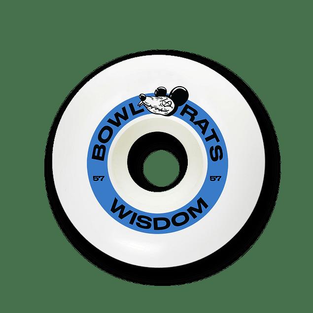 Ruedas Wisdom - Bowl Rats conicas 57mm