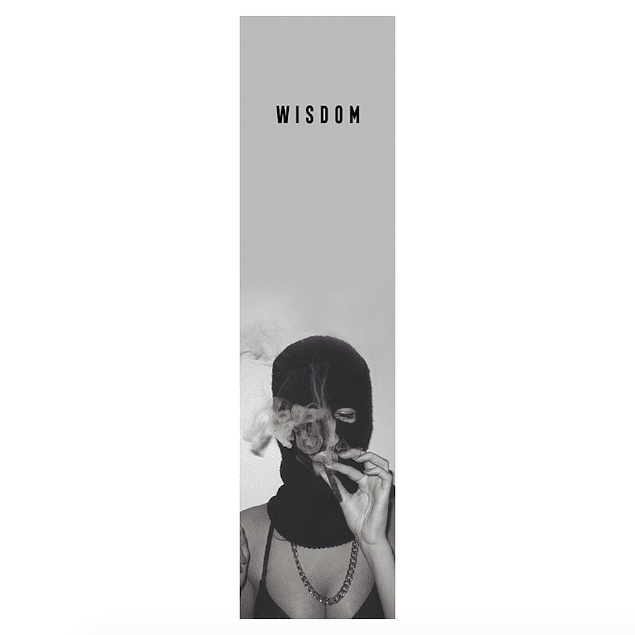 Lija Wisdom - Smoking girl