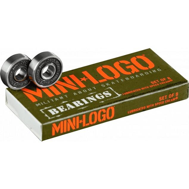 Rodamientos Mini Logo