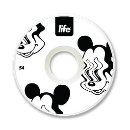 Ruedas Life - Mickey White - 54mm