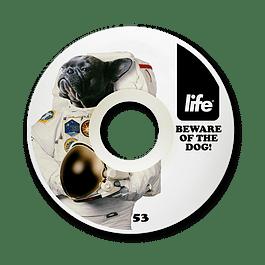 Ruedas Life - Dog White - 53mm