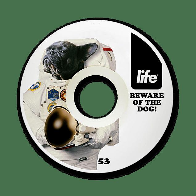 Ruedas Life - Dog White Cónicas - 53mm