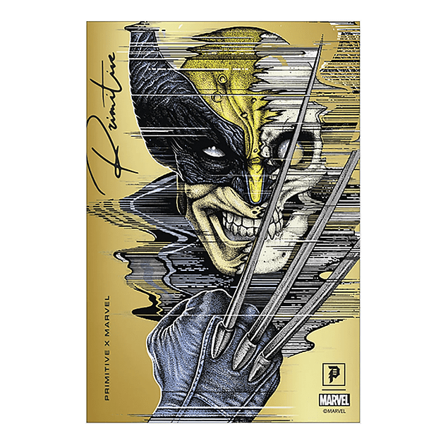 Sticker Primitive Marvel - Wolverine Foil