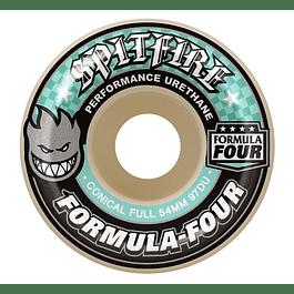 Ruedas Spitfire - Conical full F4 - 54mm