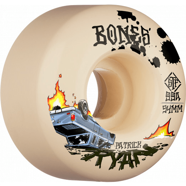 Ruedas Bones - STF Ryan - 54mm
