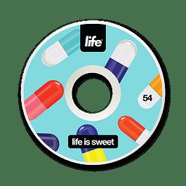 Ruedas Life - Pills - 54mm