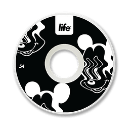 Ruedas Life - Mickey Black - 54mm