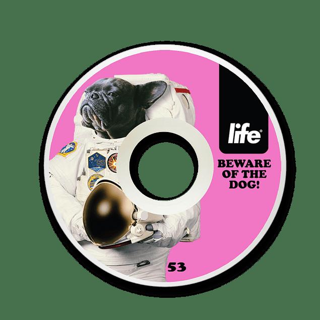 Ruedas Life - Dog Pink - 53mm