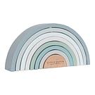 Arco-Íris de Madeira – Azul Pastel