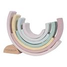 Arco-Íris de Madeira – Rosa Pastel