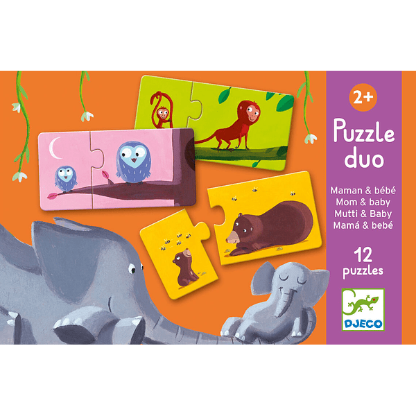 Puzzle - Mom & Baby