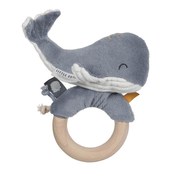 Anel Chocalho Baleia – Ocean blue