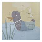 Puzzle 4-em-1 Little Goose