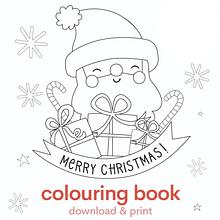 Caderno de Pintar - Natal