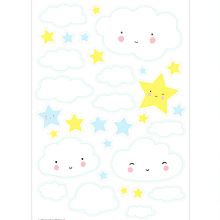 Wall sticker Cloud