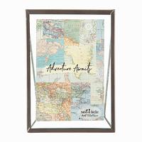 Moldura - Vintage Map