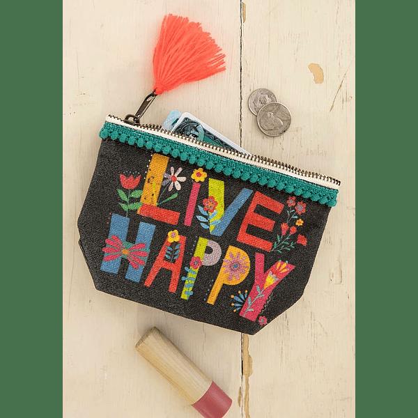 Porta-Moedas - Live Happy