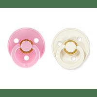Chuchas BiBS Baby Pink/Ivory