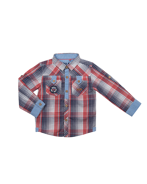 CAMISA ML TERRACOTA NIÑO -02 119