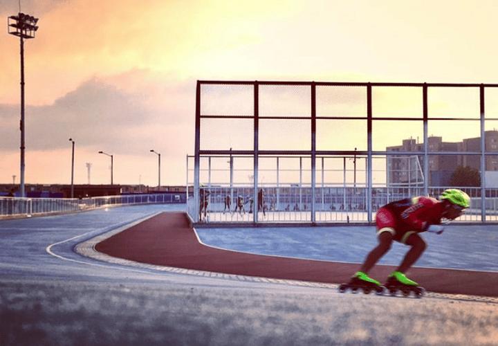 Técnica del patinaje de carreras, una breve explicación.
