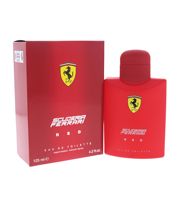 Ferrari Scuderia Red 125 ML EDT