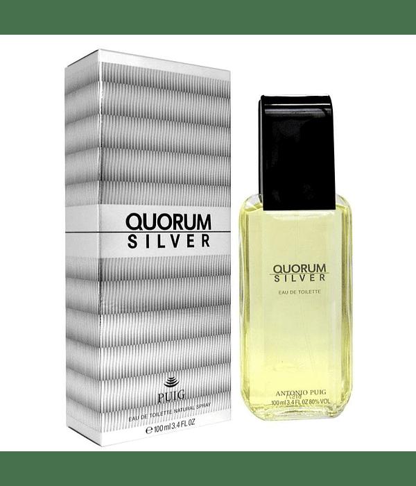Quorum Silver 100 ML EDT