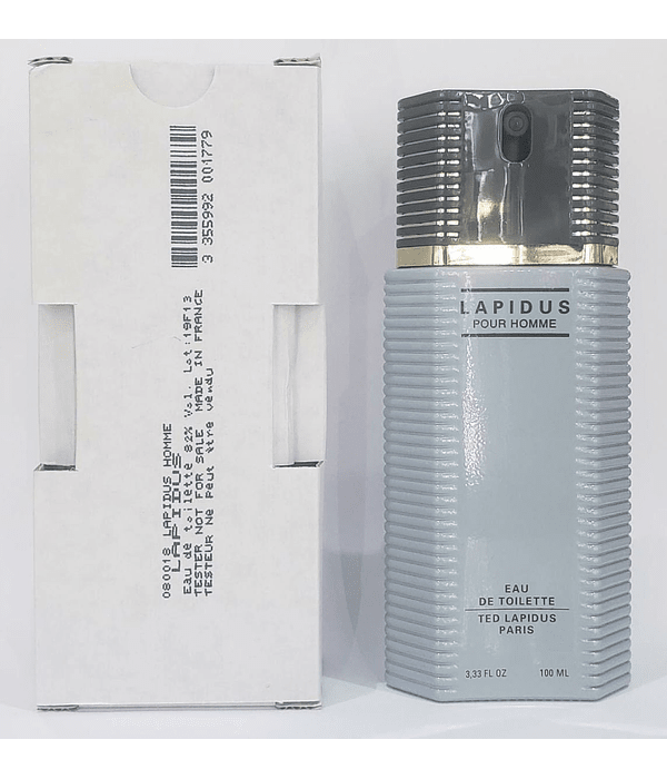 Ted Lapidus Pour Homme Tester 100 ML EDT