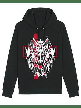 Sudadera con capucha de Lobo