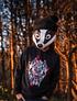 Little Badger Black Beanie - Handmade with 100% Wool
