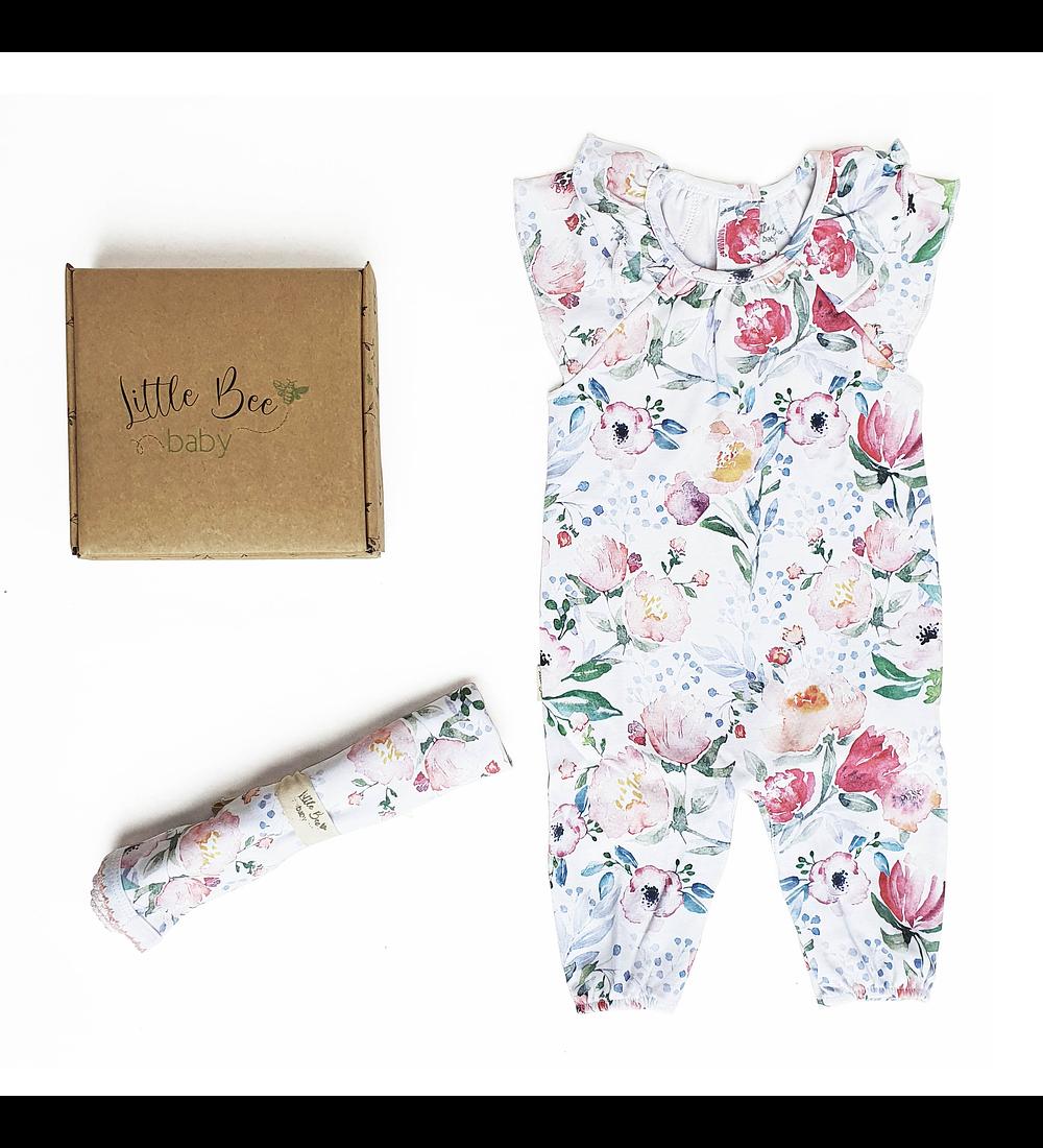 LITTLE BEE BOX Enterito + Tuto Rose Garden