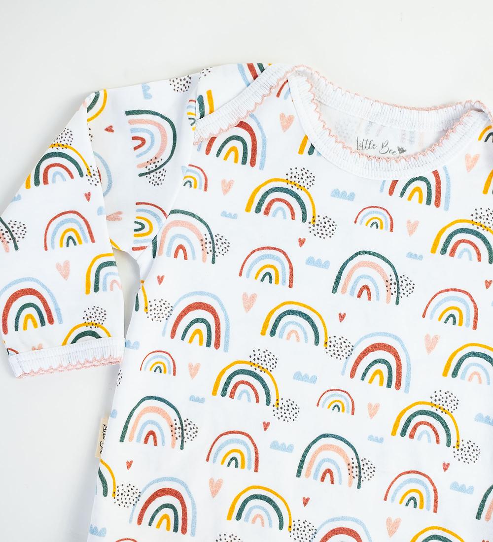 Body Manga Larga Rainbows