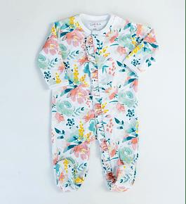 Pijama Vuelitos Pastel Flowers